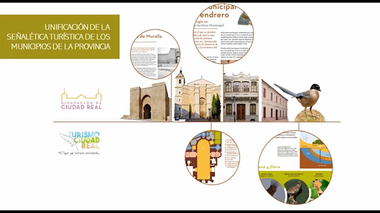 La Diputación invierte un millón de euros en señalización turística