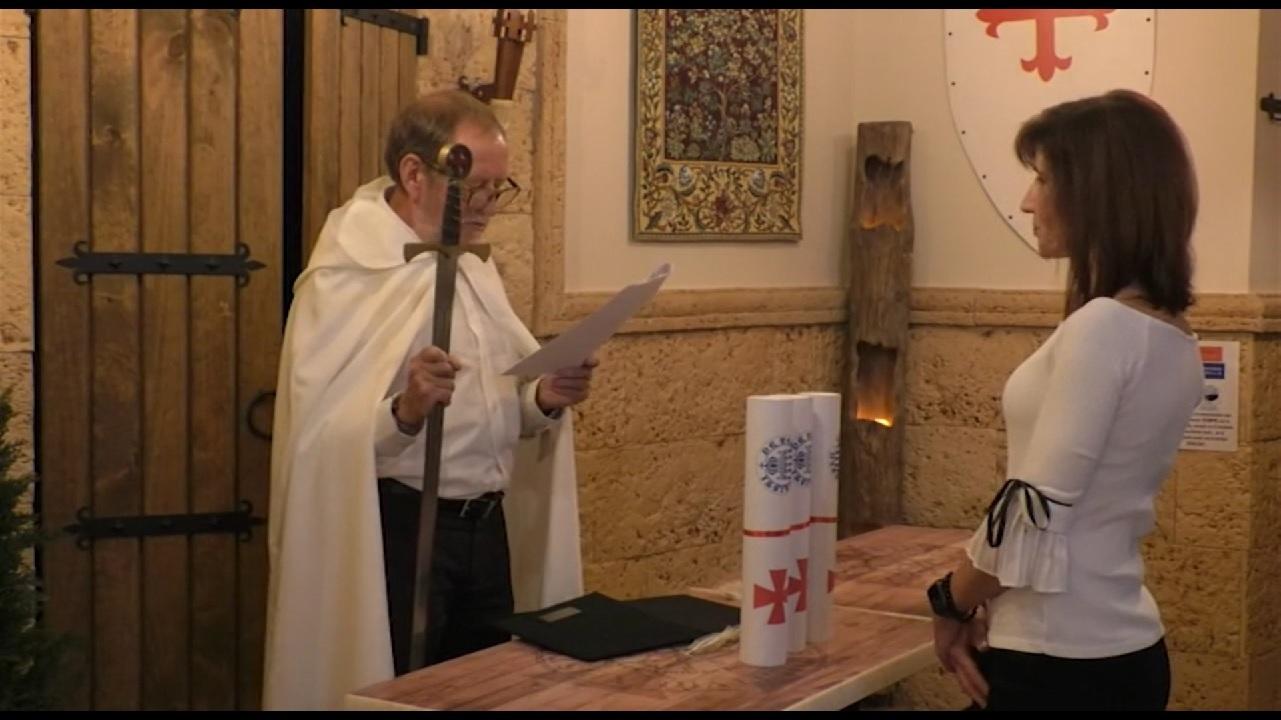 En Manzanares la Orden Pobres Caballeros de Cristo nombra cuatro nuevos sargentos