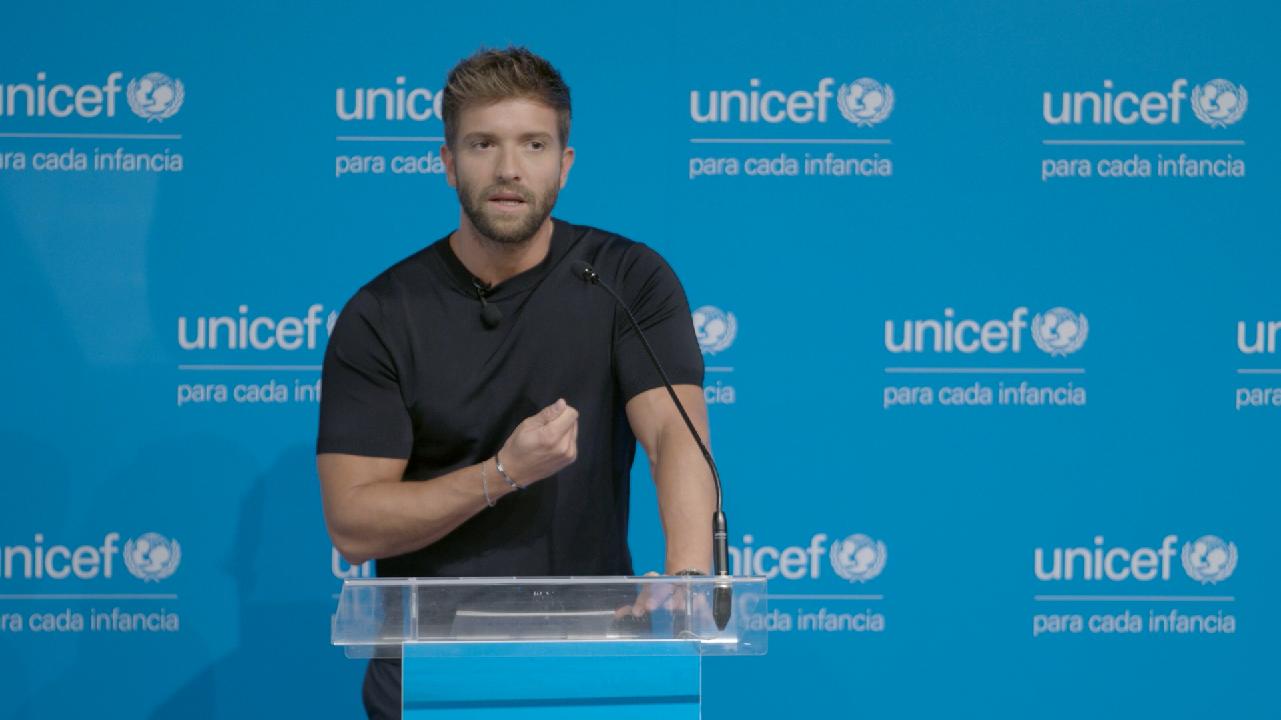 Pablo Alborán nuevo Embajador UNICEF España