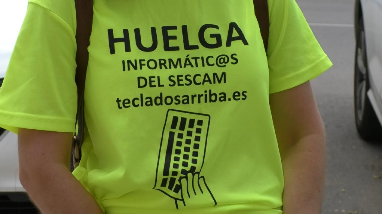 Huelga indefinida informáticos del SESCAM