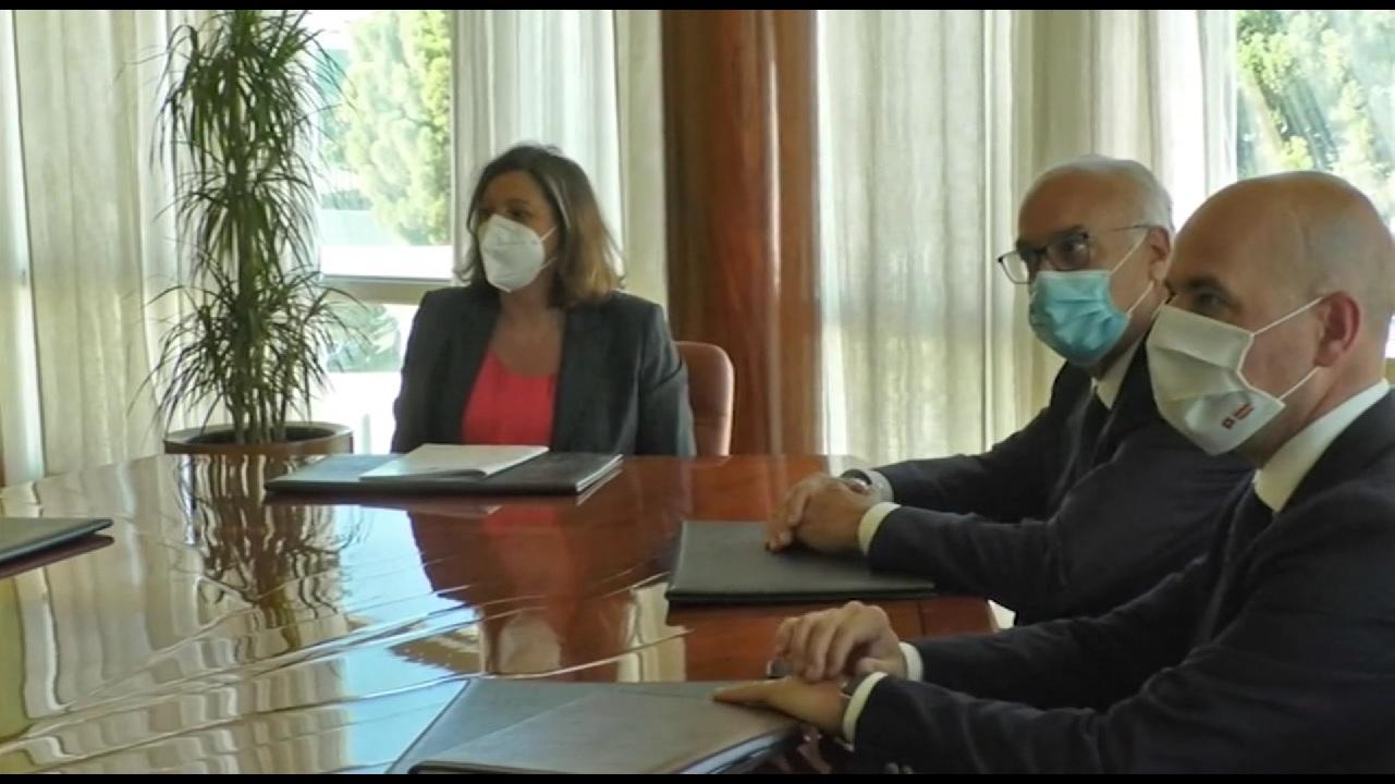 Patricia Franco visita empresa Miguel Bellido