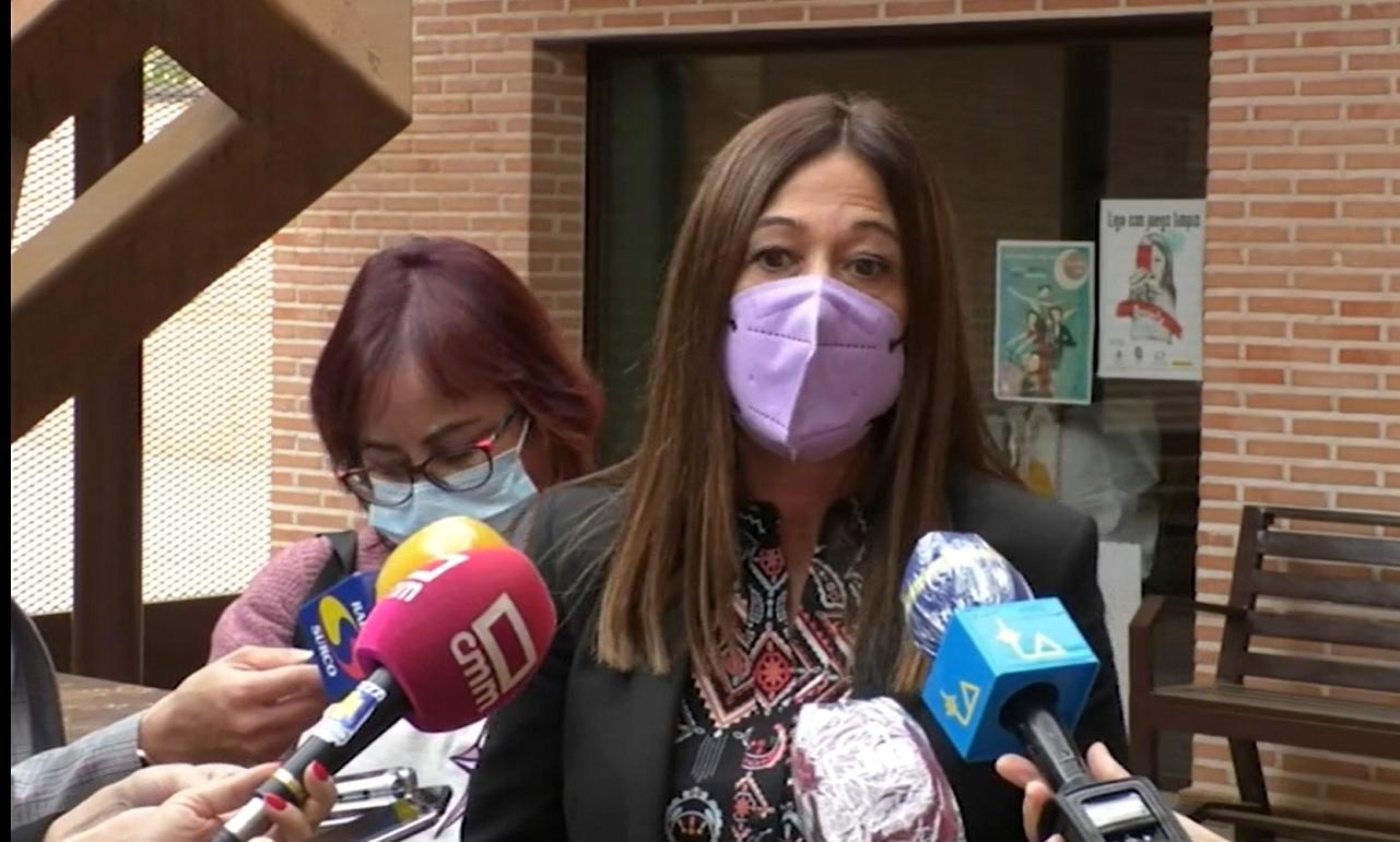 Pilar Callado Directora del Instituto de la Mujer visita Manzanares
