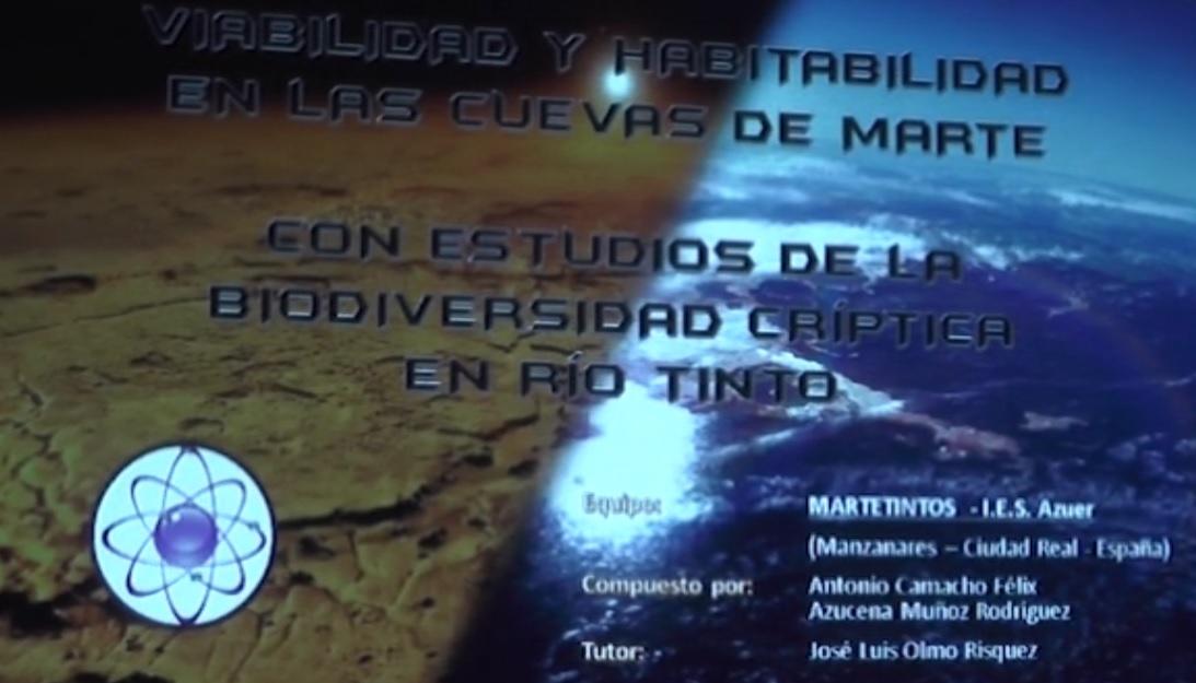 Martetintos: Proyecto ganador  I.E.S. Azuer Manzanares